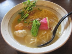 『福島壱麺』×『麺屋 NOROMA』コラボ ~五ノ神水産をリスペクした鮮魚ラーメン「鯛搾り」~-4