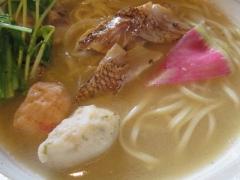 『福島壱麺』×『麺屋 NOROMA』コラボ ~五ノ神水産をリスペクした鮮魚ラーメン「鯛搾り」~-12