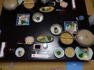 2014年05月03日 魚拓荘・夕食