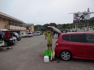 2014年07月12日 民宿金ヶ浜・周辺