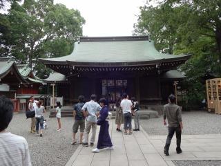 2014年08月14日 川越氷川神社2