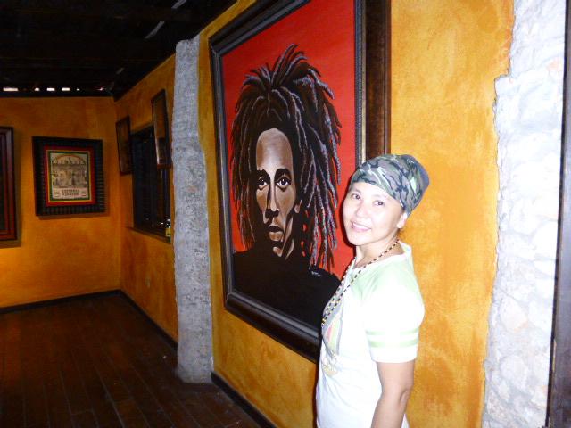Nine Miles Bob Marley ボブ・マーリー ナインマイル ジャマイカ観光