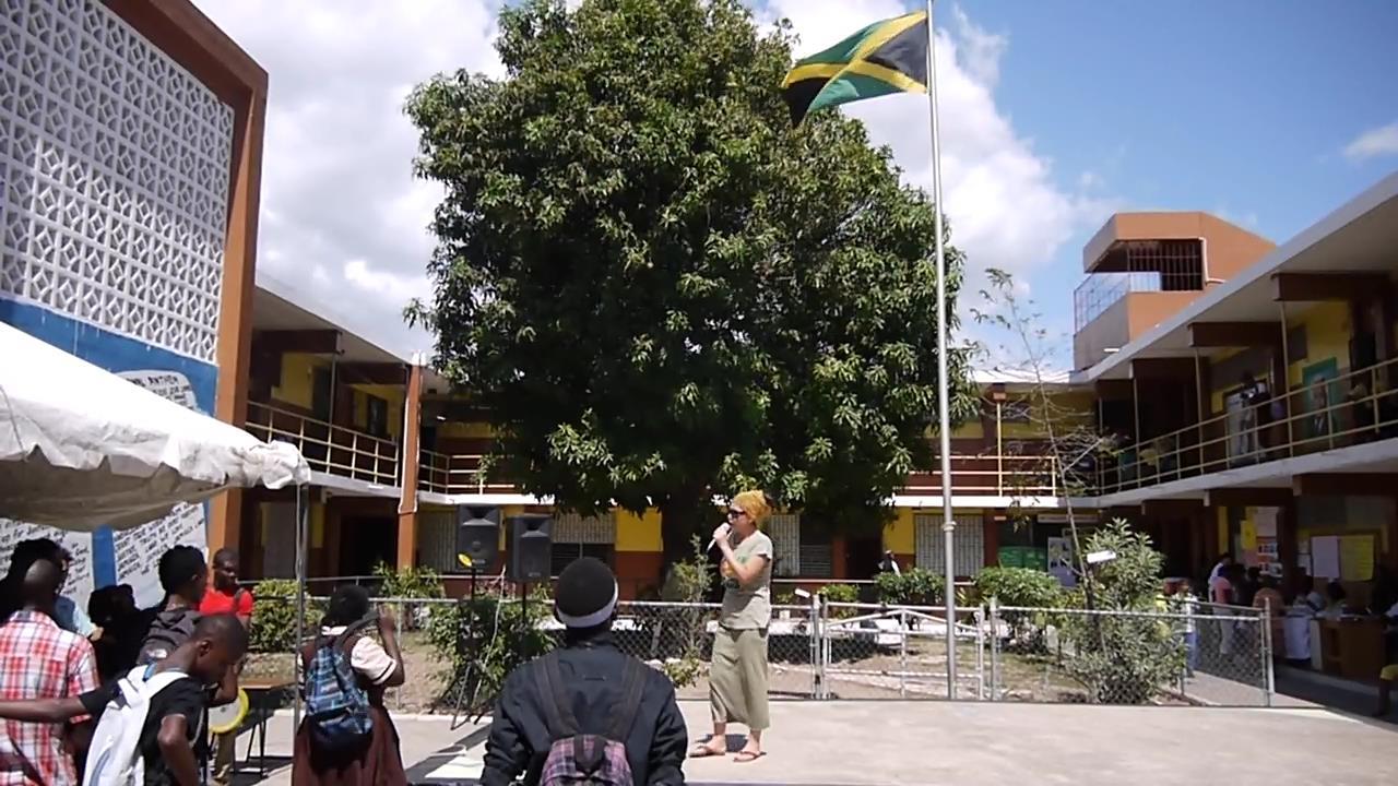 Rankin Pumpkin@ Haile Selassie I High School Jamaica Kingston