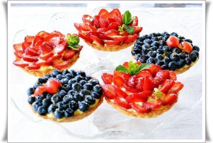 strawberry&blueberry