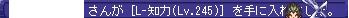 L知力(Lv245)(Hラマシー)