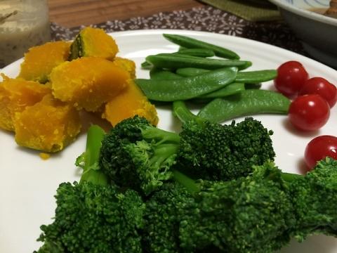 4温野菜サラダ