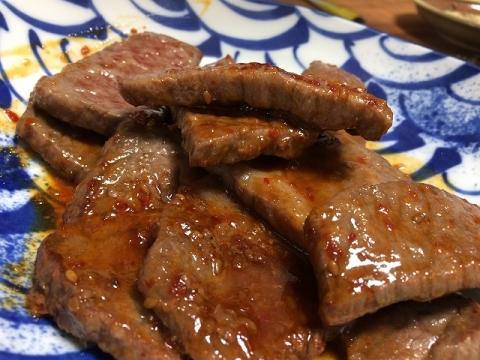 17焼き牛丼