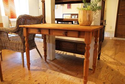 パイン材テーブル カントリー家具