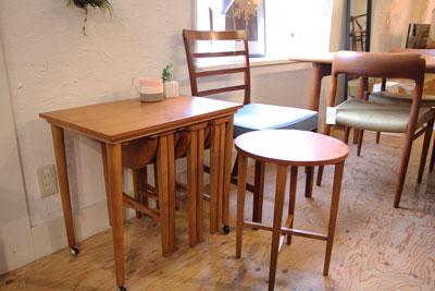 イギリスヴィンテージ家具 ネストテーブル