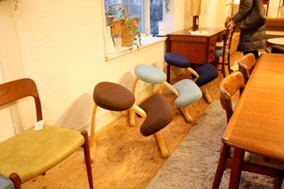 バランスチェア リボ社 子供椅子