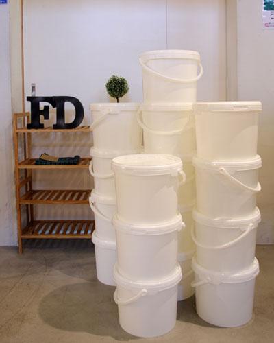 リサイクル雑貨 かわいいバケツ インテリア収納