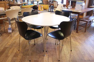 フリッツハンセン Bテーブル デンマーク家具 オフィス家具