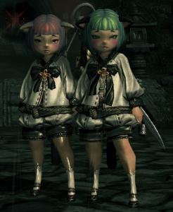 ミニ松子&ミニ梅子