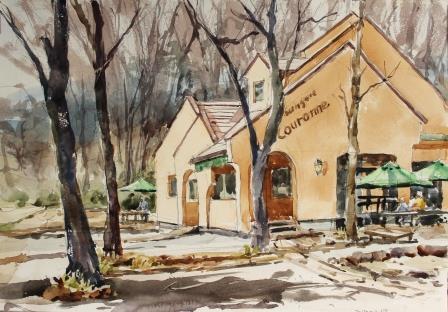 森のパン屋さん「クーロンヌ」