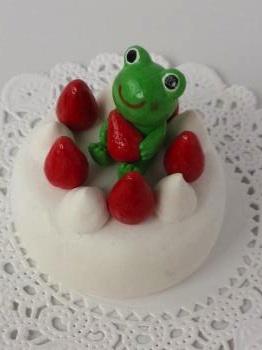 ケーキかえる
