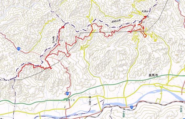 0125大滝山と竜王山