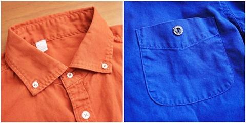2015-02-25 27-br4965-24ロイヤルブルー バーンズアウトフィッターズ[BARNS OUTFITTERS] 立体縫製オックスフォード長袖ボタンダウンシャツ 4