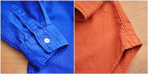 2015-02-25 27-br4965-24ロイヤルブルー バーンズアウトフィッターズ[BARNS OUTFITTERS] 立体縫製オックスフォード長袖ボタンダウンシャツ 5