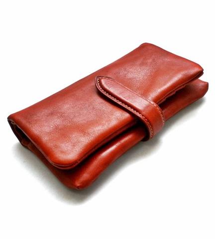 2015-02-26 12-3373-red ホークカンパニー[Hawk Company] イタリアンレザー  ラウンドジップビッグウォレット 1