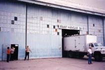 RAAFのハンガー