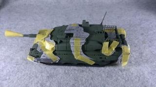 10式戦車 マスキング