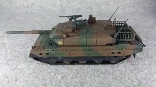 10式戦車 左側