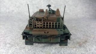 10式戦車 後ろ