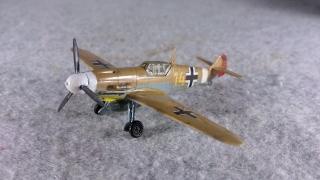 メッサーシュミット Bf 109 F-4 Trop 左前から