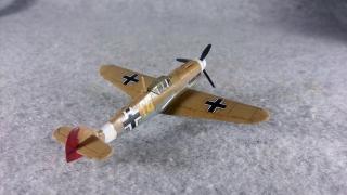 メッサーシュミット Bf 109 F-4 Trop 右後ろから