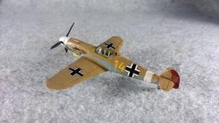 メッサーシュミット Bf 109 F-4 Trop 左後ろから