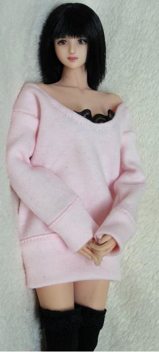 pink one piece dress3