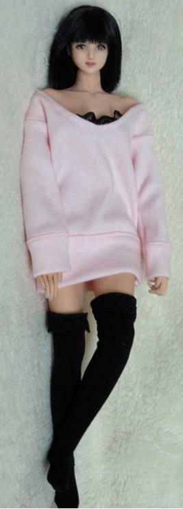 pink one piece dress5