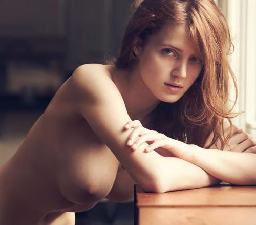 格が違うベルギーの一流モデルFanny Francoisの美乳すぎるおっぱいヌード!