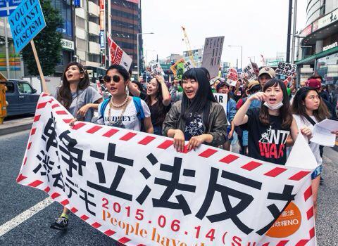 渋谷で戦争反対-4-