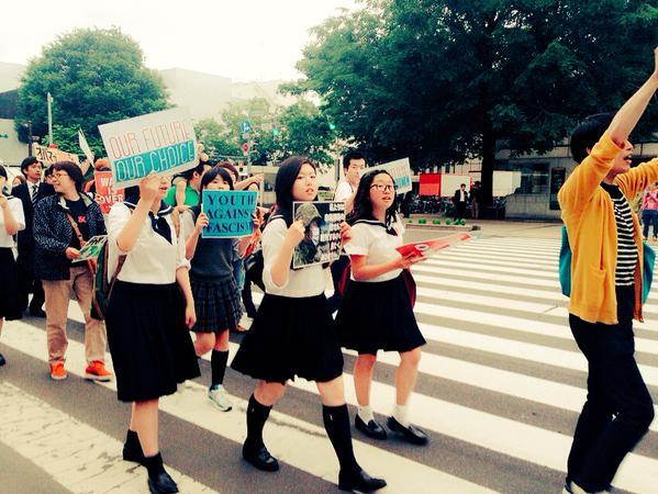 北海道でもデモ