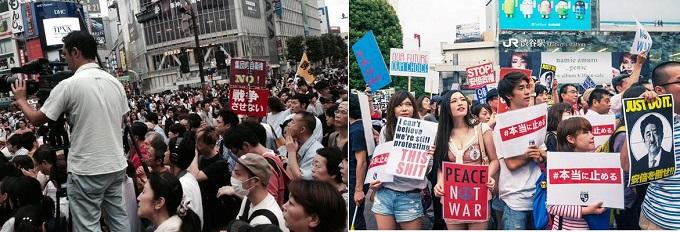 SEALDsの街宣-1-