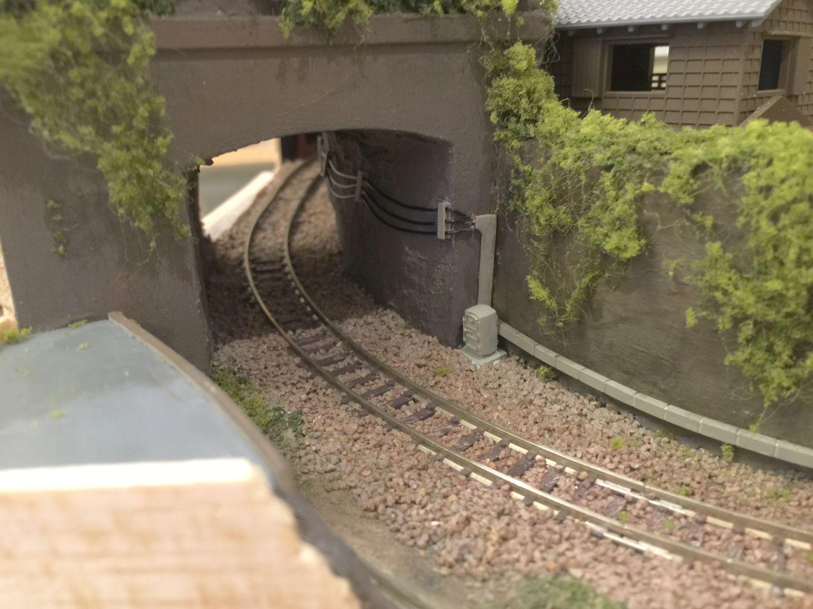 トンネルへうにょうにょを貼ったところ1