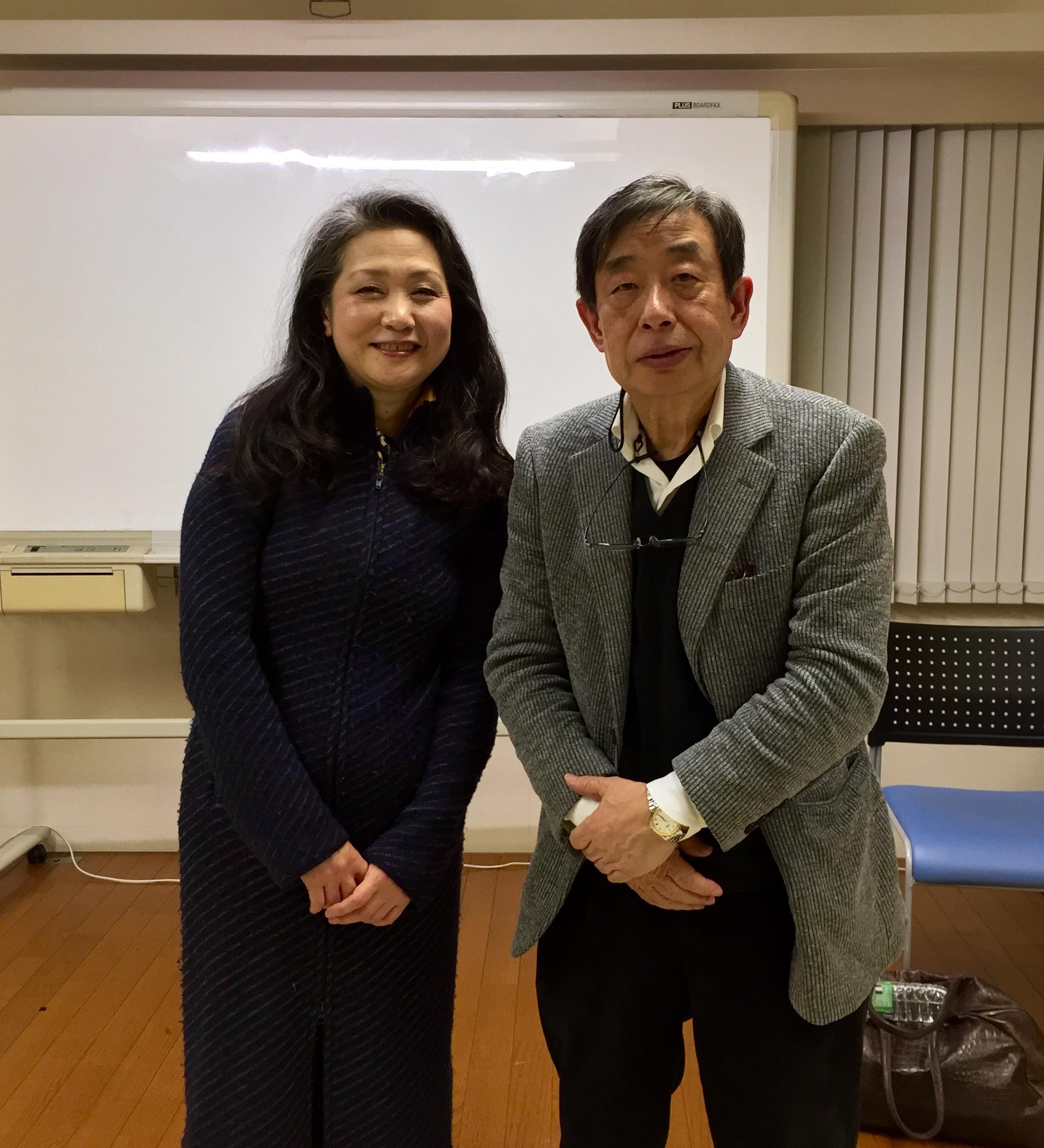 内田春菊さんと1