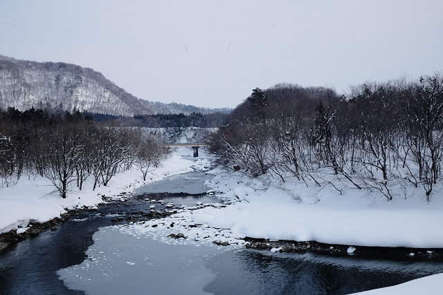 X100sと雪景色