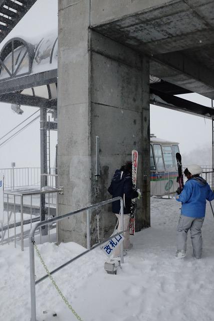 X100sと田代スキー場