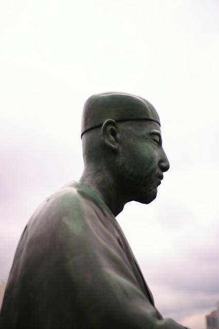 COLOR-SCOPAR35㎜と芭蕉像など