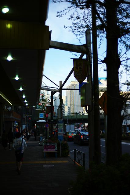 NCSC3514と百軒店商店街
