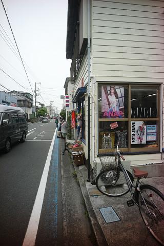 GR2135と茅ヶ崎の路地裏