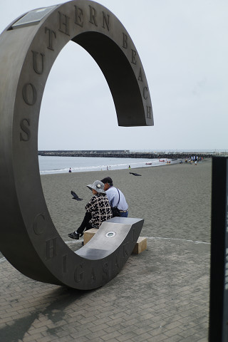 T2Sonnarと茅ケ崎海岸