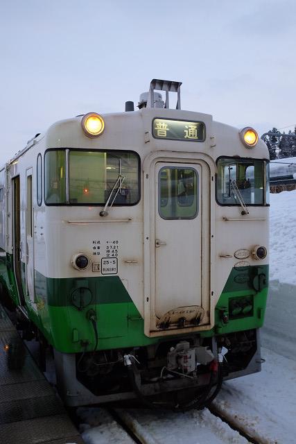 X100sと小出駅