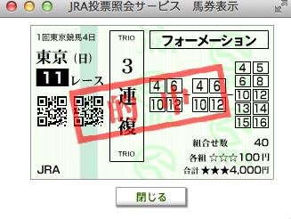 2015東京新聞杯