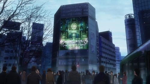 デレマス1話001渋谷駅