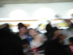 オクトバーフェスト閉場間際の写真。