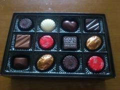 モロゾフのチョコレート。