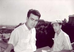「張込み」(1958年)の一場面から。